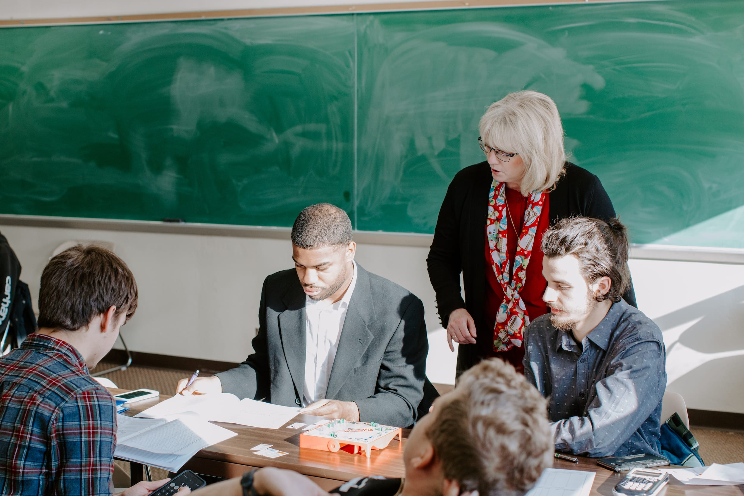 classroom christian college degrees