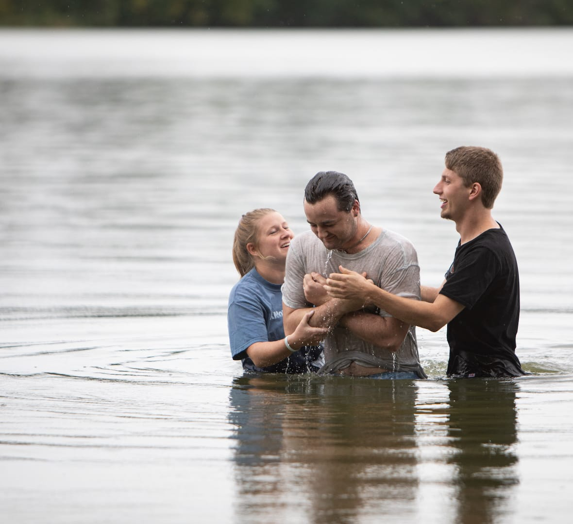 baptism in river crown college culture