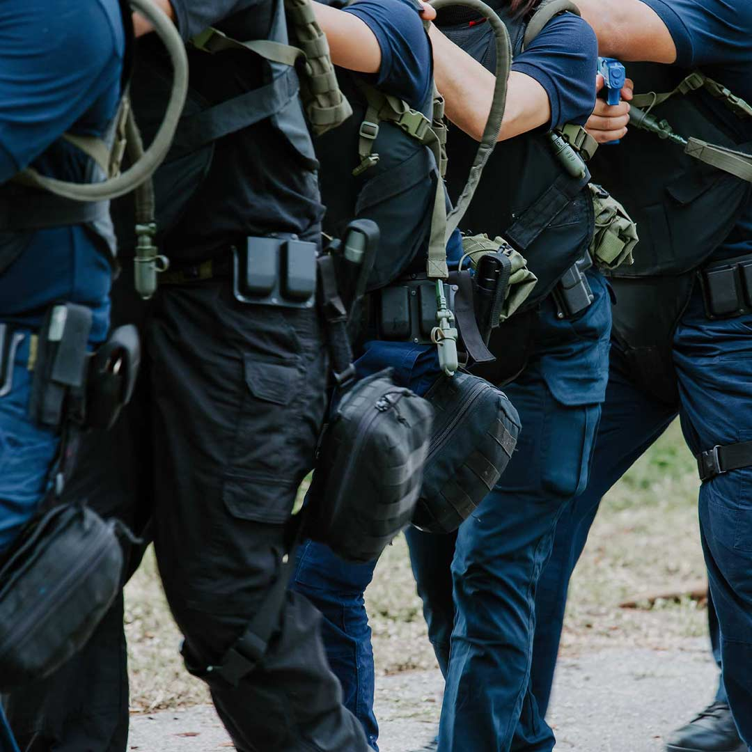 multiple police training for christian law enforcement class