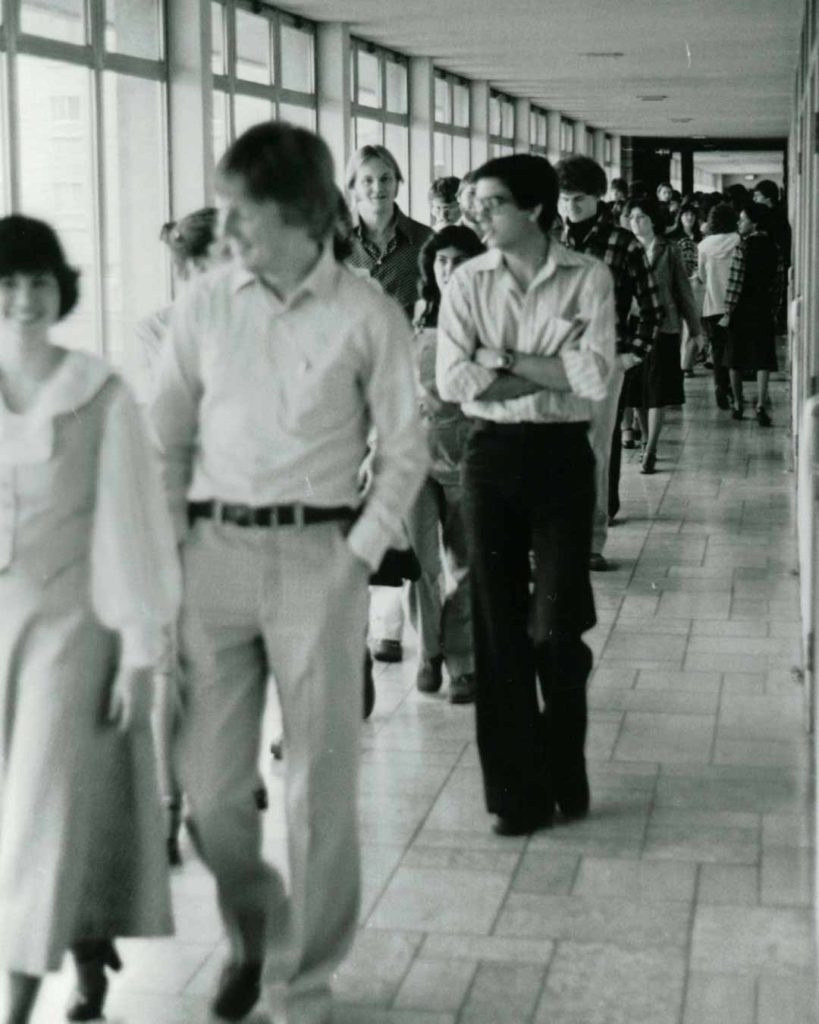 old photos of students lobby christian colleges in minnesota
