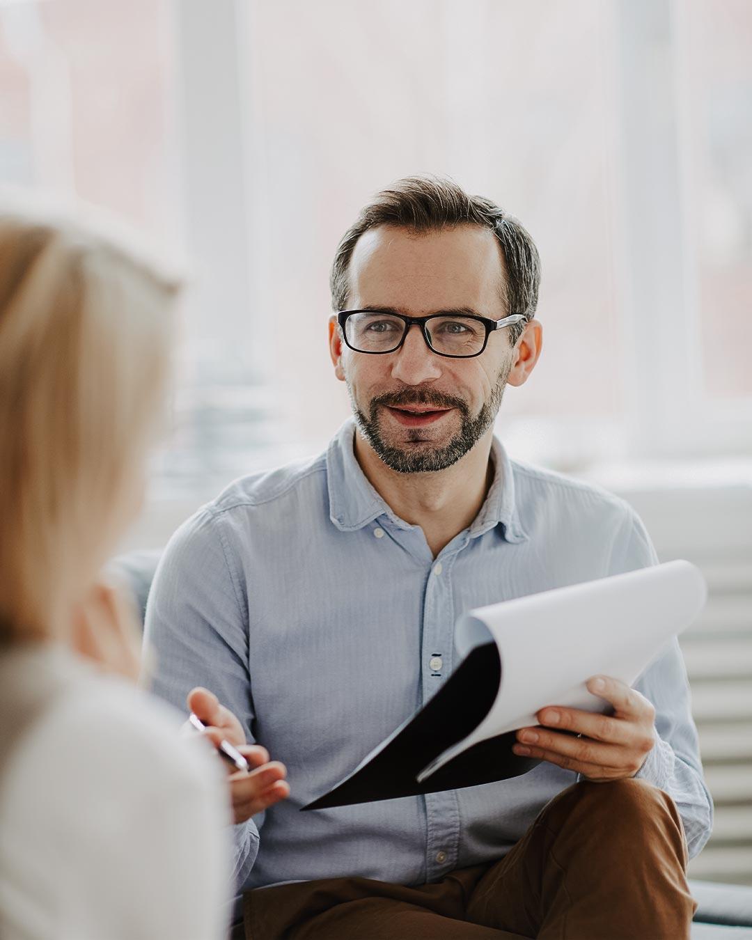 male counselor christian psychology degree