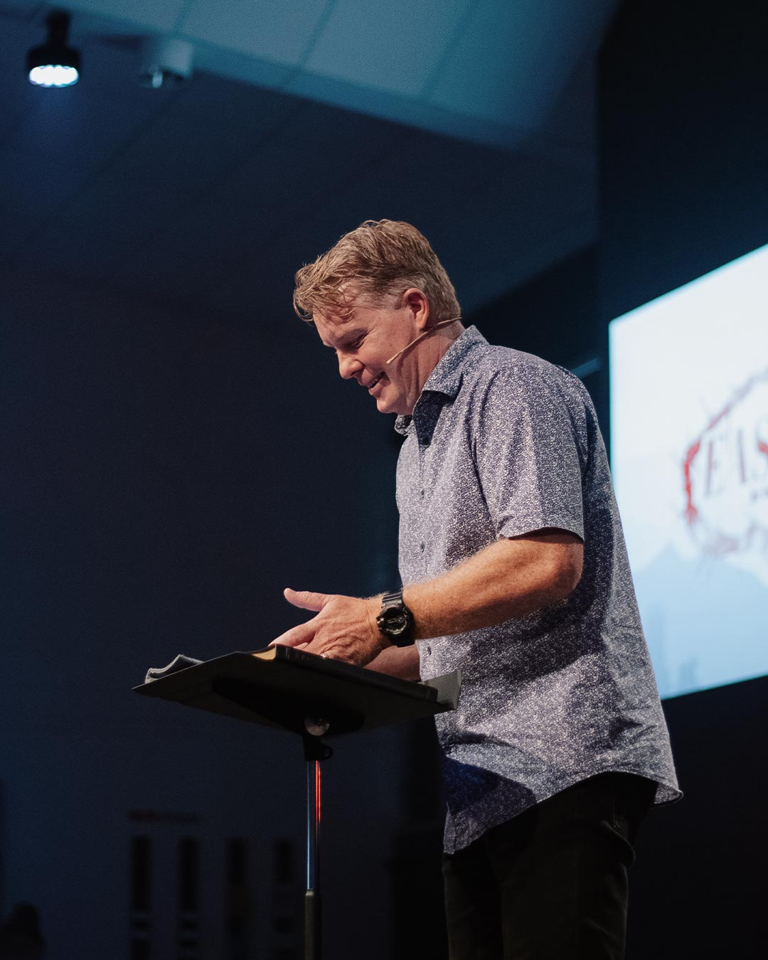 pastor preaching of masters degree in divinity online