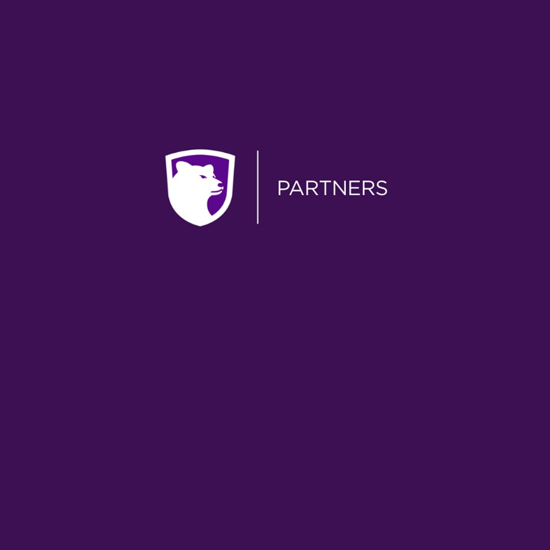 partner of crown college purple logo