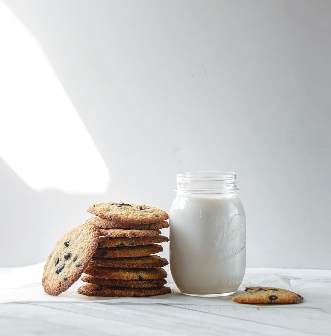 cookies on table with milk christian colleges in minnesota