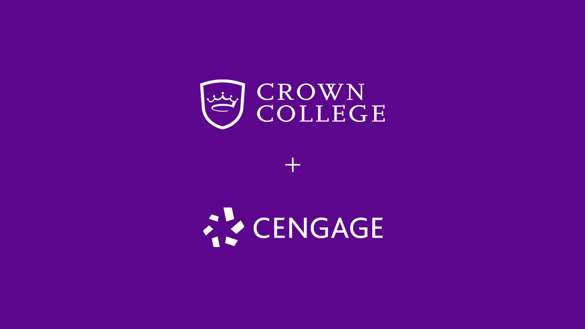 Cengage + Crown Purple