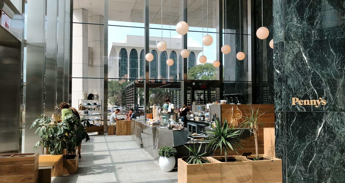 Coffee shop in Minneapolis