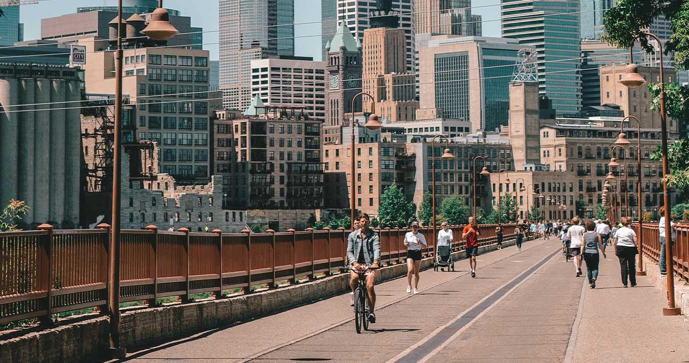 Exercise activities in Minneapolis